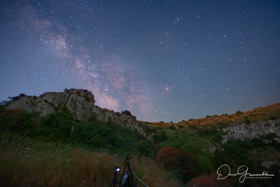 Pantalica Milky Way - Dreamscape Of Sicily - Unesco World Heritage Site