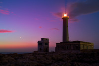 Danw With Earthshine Moon at Santa Croce Lighthouse 2 - Augusta - Sicily
