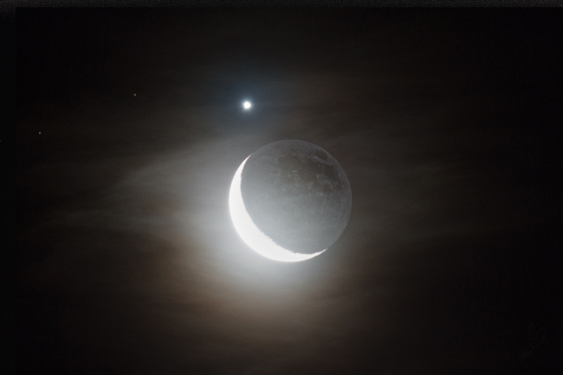 Moon and Venus Color correction