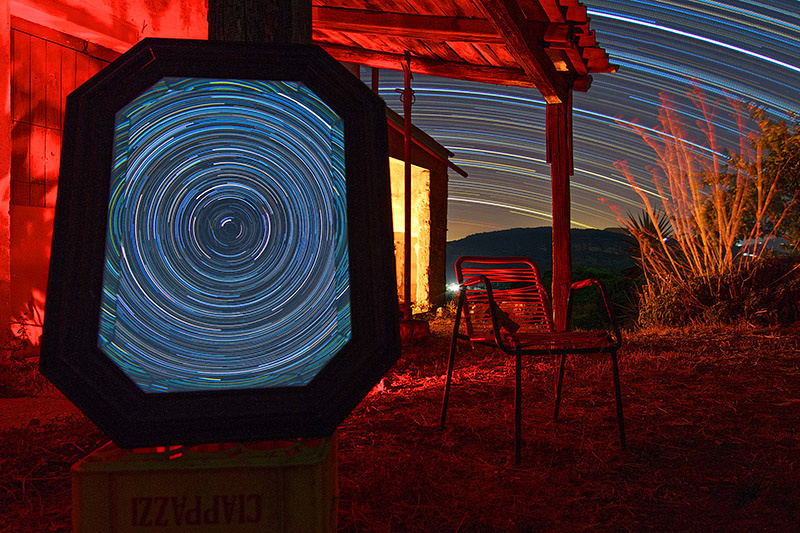 Star Trail in Photoshop - the missing observer fig7