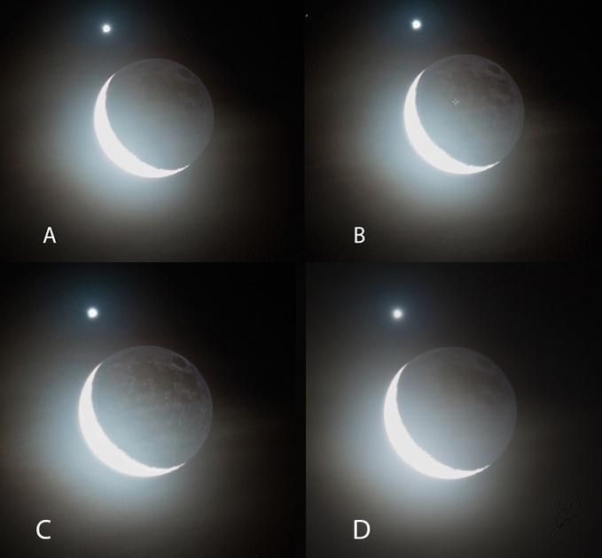 Moon and Venus USM1