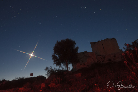 A Star Over Ancient Noto