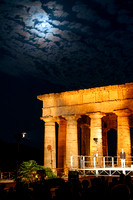 Moon Halo at Segesta Temple
